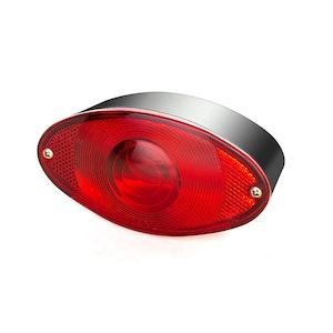 Oval Bulb Brake / Tail Light - Black
