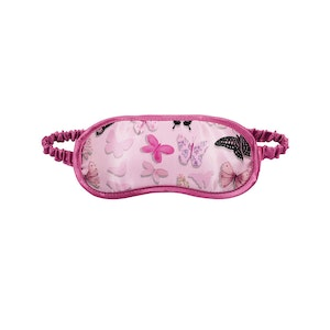 Christopher Vine Butterfly Eye Mask Pink Butterflies Travel Sleep Cover Blindfold