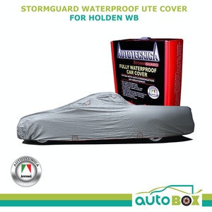 Autotecnica Car Cover StormGuard Waterproof UTE up to 5.2m for Holden WB