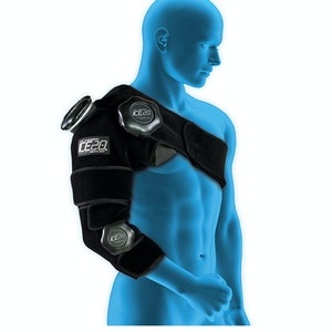 Boutique Medical ICE 20 Combo Arm/Shoulder Strap Compression Therapy Wrap Cold Pain Relief