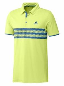 Adidas Core Polo Men's Pulse Yellow/Focus Blue