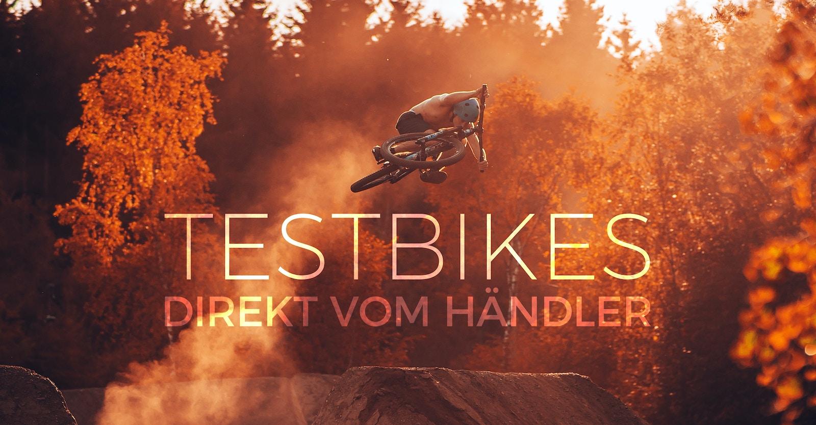 Testbikes direkt vom Händler kaufen