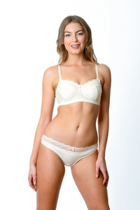SHOW OFF IVORY NURSING BRA - WIREFREE