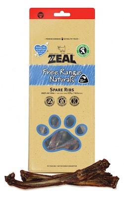Zeal Free Range Naturals Spare Ribs Dog Treat 125g
