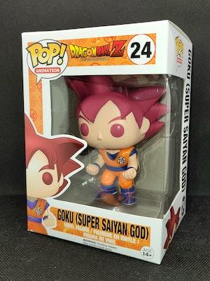 Dragonball Z - Goku (Super Saiyan God) #24 Pop Vinyl