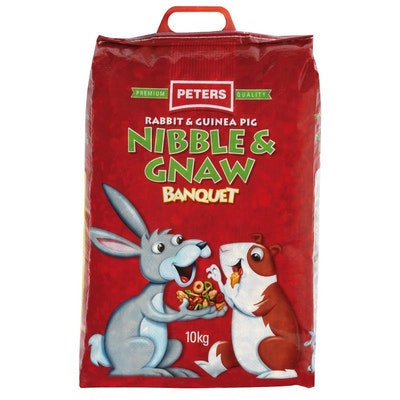 Peters Nibble & Gnaw Rabbit and Guinea Pig Food Mix