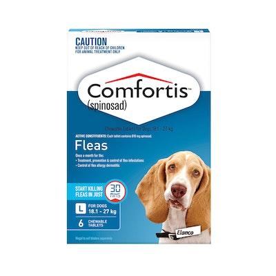 Comfortis Blue Flea Tablets 18.1-27kg Dog