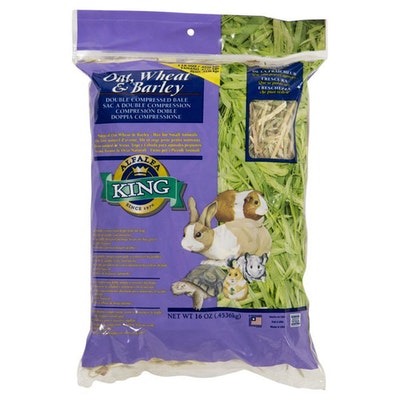 Alfalfa King Natural Food Treat Oat,Wheat, & Barley 454g