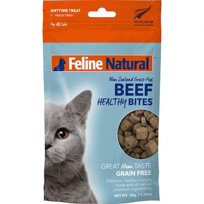 K9 Natural Beef Healthy Bites Cat Treats 50G