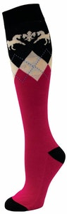 Equine Couture Ladies Hadley Knee Hi Socks