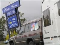 Park Lane is a  four  and a half star leader among caravan parks