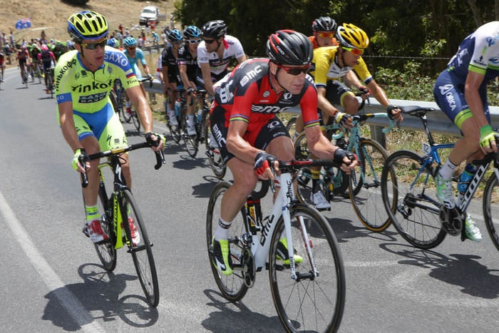 Cadel Evans Willunga Hill Etappe Tour Down Under 2015