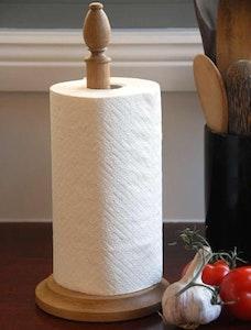 Oak Paper Towel stand