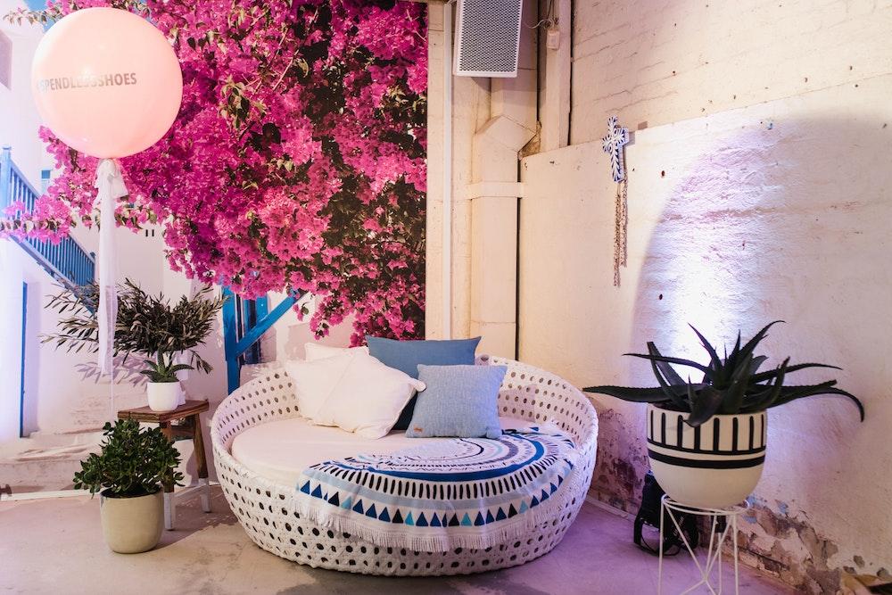 LENZO Santorini Party Theme Spend-less Shoes Launch
