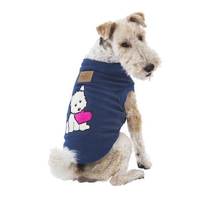 Hamish McBeth Puppy Heart Blue Dog Pyjamas