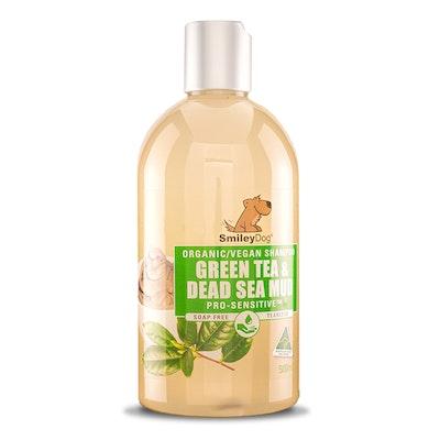 Smiley Dog Vegan / Organic Green Tea & Dead Sea Mineral Mud Pro-Sensitive Shampoo