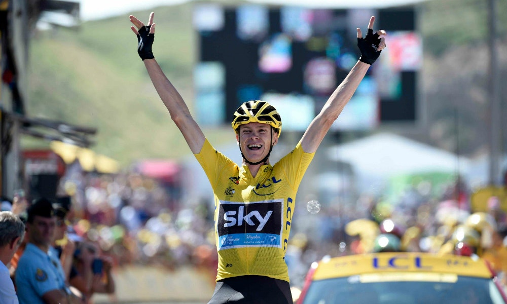Froome wins stage 10