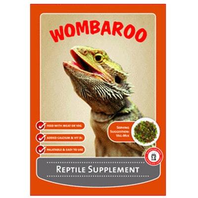 Wombaroo High Protein Vitamin Reptile Snake Dragon Lizard Food 250g