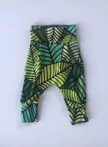 Palm Leaves Harem Pants