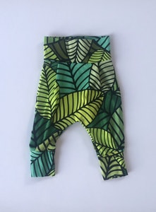 Palm Leaves Harem Pants