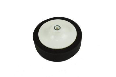 """6"""" Foam Sponge Buff Pad Black"""
