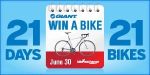 The Giant Win a Bike Contest - WINNERS