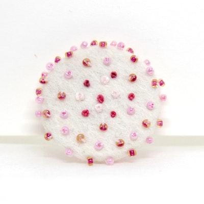 Karhina Pink Confetti Brooch