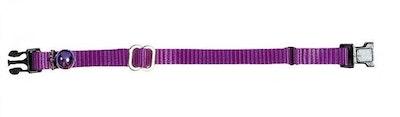 Prestige Pet Products Prestige Pet 3/8 Inch Adjustable Cat Collar Purple - 2 Sizes