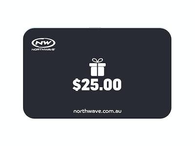 $25 Northwave Australia e-Gift Card