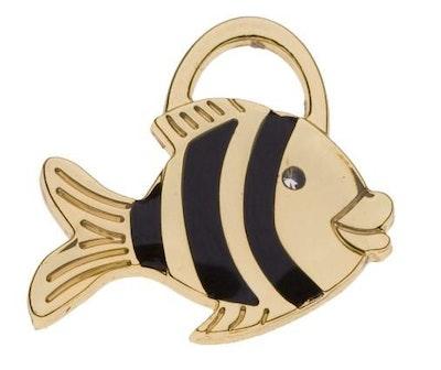 Hamish McBeth Mini Fat Fish Pet ID Tag