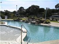 Anglesea Beachfront pool. There is a spa too
