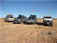 GoSee Group fly dune flags to prevent radiator collisions