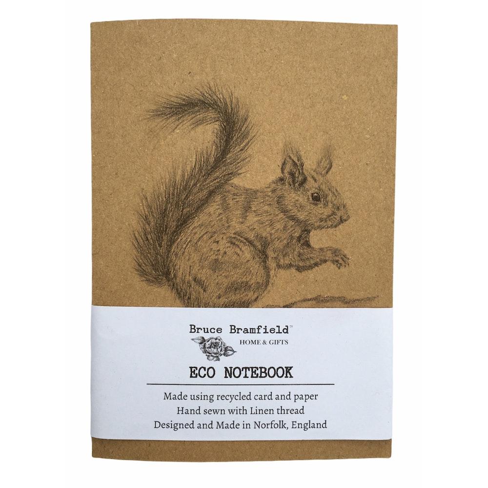 Bruce Bramfield Squirrel Eco Notebook