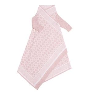 Jujo Baby Diamond Jacquard Shwrap™  - Pink/Chalk