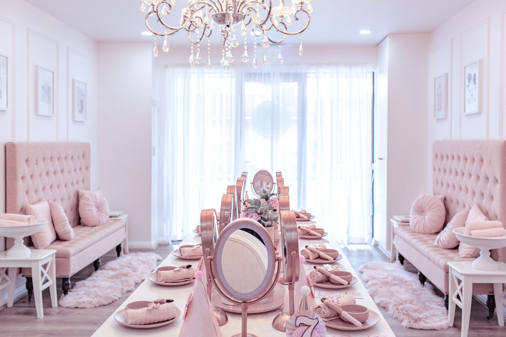 Pretty in pink princess pamper party