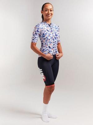 Black Sheep Cycling Women's Essentials TEAM Jersey - Sakura Blue