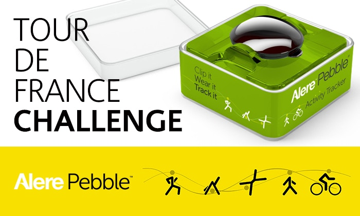 2014 Tour de France Alere Pebble Challenge