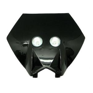 Pentagon Motocross Front Headlight - Black