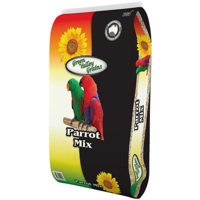Green Valley Parrot Nutritious Seed Mix Food - 3 Sizes