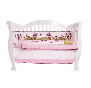 Babyhood Amani Bebe 5 Pcs Set - Raspberry Garden