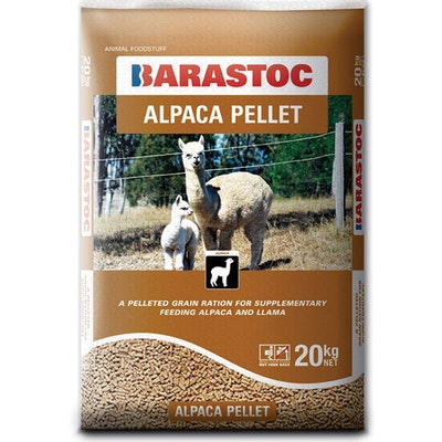 Barastoc Alpaca Pellets Grain Maintenance Food Llama 20kg
