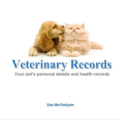 VanityPaws Book - Veterinary Records