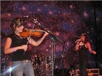 Wild fiddle at the Folk Festival