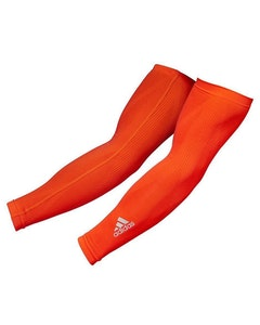 Boutique Medical Adidas Compression Arm Sleeves Cover Basketball Sports Elbow Support S/M - Red