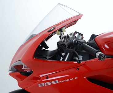 R&G Racing Mirror Blanking Plates To Suit Ducati Panigale 959/1299