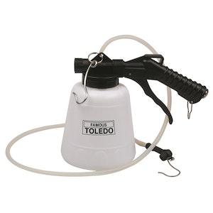 Toledo Brake Bleeder & Fluid Extractor 1.6 Litre/m 1 Litre Capacity
