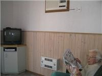 Aircon heater TV and CD DVD. The  paper comes daily Anglesea Beachfront Family Caravan Park