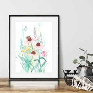 Bee and Bloom Fine Art Print