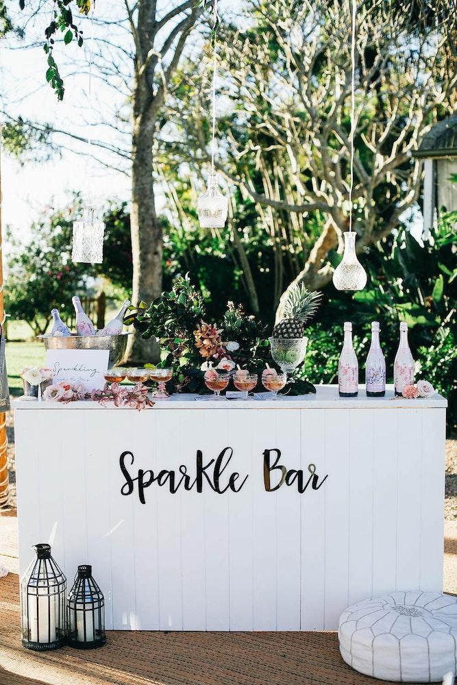 LENZO Byron Bay Boho Sparkle Bar