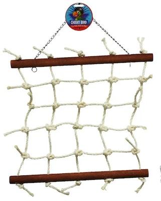 Cheeky Bird Natural Large Rope Lattice B0885